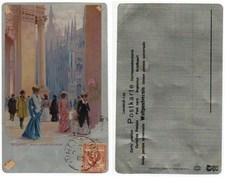 MILANO - ARCO DELLA GALLERIA - Illustratore BELTRAME #2 - Milano