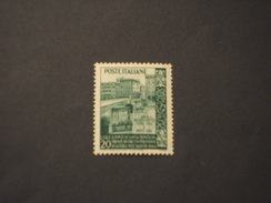 ITALIA REUBBLICA - 1949 TRINITA' - NUOVO(++) - 1946-60: Mint/hinged