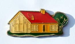 Pin's MSEMA - Le Pavillon Témoin - Architecture - Construction - G188 - Trademarks