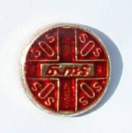 Pin's  SOS SANG - Association Des Donners De Sang - Zamac - Arthus Bertrand - G226 - Arthus Bertrand