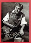 AUTOGRAPHE DE THEO ADAM FESTIVAL DE BAYREUTH 1968 BARYTON BASSE ALLEMAND NE A DRESDE EN 1926 HANS SACHS POETE CORDONNIER - Autographes