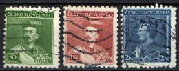 CECOSLOVACCHIA - 1932 - EFFIGIE DI MIROSLAV TYRS - USATI - Czechoslovakia