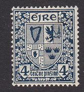 Ireland, Scott #71, Mint Hinged, Arms, Issued 1922 - Nuovi