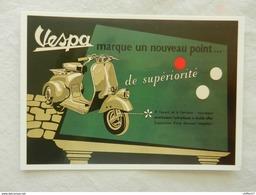CPM  Publicité  VESPA    Reproduction - Advertising