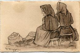 Illustrateur Huygen Paysannes Basques 16 Au Marche - Zonder Classificatie