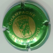 CAPSULE-CHAMPAGNE PREVOT René N°01 Vert & Or - Champagne