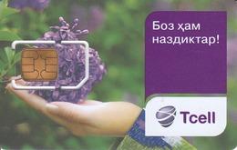 TAJIKISTAN - Tcell Mobile SIM Cards ,dummy - Tadschikistan