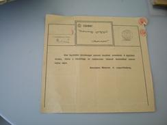 Tavirat Telegram WW2 Okupation Mozsor 1942 Mosorin - Banat-Bacska