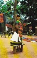 Panama San Blas Native Kuna Indian Girl