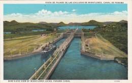 Panama Canal Birds Eye View Of Miraflores Locks