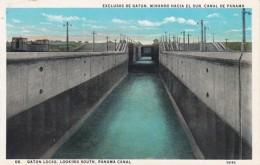 Panama Canal Gatun Locks Looking South