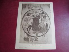 Fiche Illustrée Hôpital Saint-Antoine Salle De Garde Des Internes En Médecine Collection Eusedyl N°8 - Picture Cards