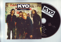Cd 4 Pistes : KYO : Contact - Je Reve Encore - Contact Clip + Making Of (video) - Rock
