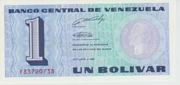 (72) VENEZUELA. 1 BOLIVAR  1989 ... UNC - Venezuela