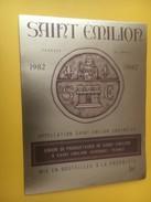 3970 - Saint-Emilion 1982 Union Des Producteurs - Bordeaux