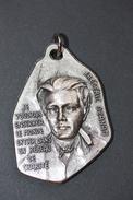 """Pendentif Médaille Religieuse """"Frédéric Ozanam, Béatifié Par Jean-Paul II En 1997"""" Religious Medal - Religion & Esotericism"""