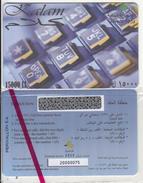 LEBANON - Kalam Prepaid Card 15000LL, CN : 2000, Tirage 100, Exp.date 31/12/05, Mint, Perivallon SA Sample - Lebanon