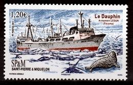 "Saint Pierre And Miquelon, Ship ""Le Dauphin"", 2017, MNH VF - Nuovi"