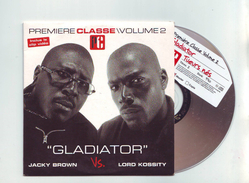 "Cd 2 Titres Jacky Brown Vs Lord Kossity "" Gladiator ""/premiere Classe Volume 2 - Rap & Hip Hop"