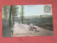 CIRCUIT DE LA SEINE INFERIEURE / DIEPPE 1910/  N°28  ROUTE A ST MARTIN EN CAMPAGNE  / EDIT LV & CIE - Dieppe