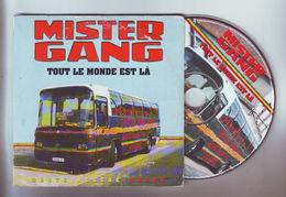 """Cd 2 Titres : Mister Gang - """" Tout Le Monde Est La """" Et """" Zion Dub """" - Reggae"""