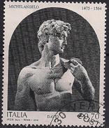 2014 Italien Mi. 3683 Used   David; Skulptur Von Michelangelo Buonarroti - 6. 1946-.. Republic