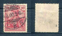 D. Reich Michel-Nr. 56a Vollstempel - Geprüft - Oblitérés
