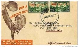 NUOVA ZELANDA -  24 10 1946 FDC TEMATICA SCOUT - Movimiento Scout
