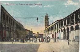 Emilia Romagna-faenza Piazza Vittorio Emanuele Animata 900 - Faenza