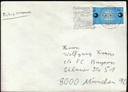 Germany Wunstorf 1983 / Tourism / Ferienparadies Steinhuder Meer / Windmill / Lighthouse / Machine Stamp - Vacaciones & Turismo