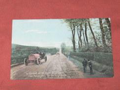 CIRCUIT DE LA SEINE INFERIEURE / DIEPPE 1910/  N° 4  LA ROUTE PRES DE  BELLENGREVILLE  / EDIT LV & CIE - Dieppe