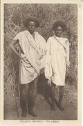 Eritrea Colonia Italiana Eritrea  Tipi Indigeni  Epoca 1935 (retro Scansione) - Erythrée