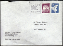 Germany Stuttgart 1984 / Tourism / CMT 84 / Internationale Austellung Für Caravan, Motor, Touristik / Machine Stamp - Vacaciones & Turismo
