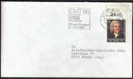 Germany Stuttgart 1986 / Tourism / CMT 86 / Internationale Austellung Für Caravan, Motor, Touristik / Machine Stamp - Holidays & Tourism