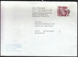 Switzerland Carouge 1979 / Tourism / Pour Vos Vacances / Sun / Machine Stamp - Holidays & Tourism
