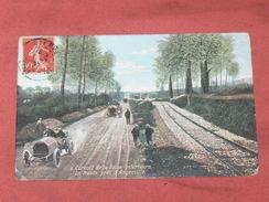 CIRCUIT DE LA SEINE INFERIEURE / DIEPPE 1910/  N°8   ROUTE PRES D ANGREVILLE / EDIT LV & CIE - Dieppe