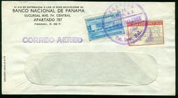 BR Panama - 1961 Luftpost Brief (Banco Nacional De Panama) - Panama
