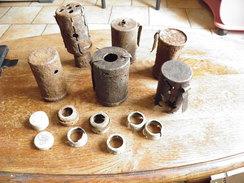 Lot De Pot Pour Grenade A Manche Allemande 14 18 - 1914-18