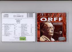 The Best Of ORRF - Carmine Burana - CD - Instrumental