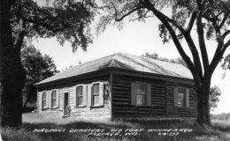 USA. Portage Wisconsin. Surgeons Quarters Old Fort Winnebago. - Etats-Unis