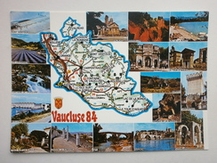 Postcard  Vaucluse 84 Multiview & Map My Ref B21033 - Unclassified