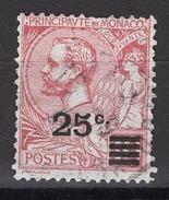 MONACO 1922 / 1923  - Y.T. N° 52 OBLITERE -  FF430 - Monaco