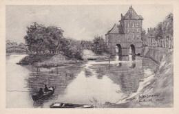 CPA Charleville, Le Vieux Moulin D'apres Un Dessin De J Weismann (pk34190) - Charleville
