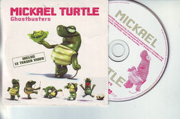 """Cd MICKAEL TURTLE - """"Ghostbusters """" - Cd 6 Pistes - Dance, Techno & House"""