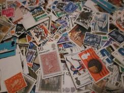 Vrac Grande-Bretagne - Beaucoup De Grands Formats - A étudier - Voir Photos - Mezclas (min 1000 Sellos)