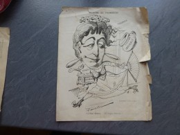 Impératrice EUGENIE : Madame De Framboisie, Cuisine, Diamants... Faustin, Vers 1860 ; Ref 623 G 10 - Prints & Engravings