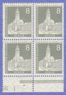 BER SC #9N124 MNH B4, 1956 City Hall, Neukolln CV $1.80 W/short Perf @ LL Of UL Stamps - Unused Stamps