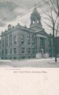 Massachusetts Lawrence Court House - Lawrence