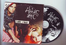 "Cd Single 2 Titres : Alisha's Attic "" I Am I Feel "" - Disco, Pop"