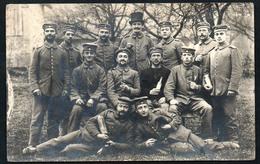 A3115 - Alte Foto Ansichtskarte - Soldaten Korporalschaft Mit Granaten ? - 1. WK WW - Guerra 1914-18